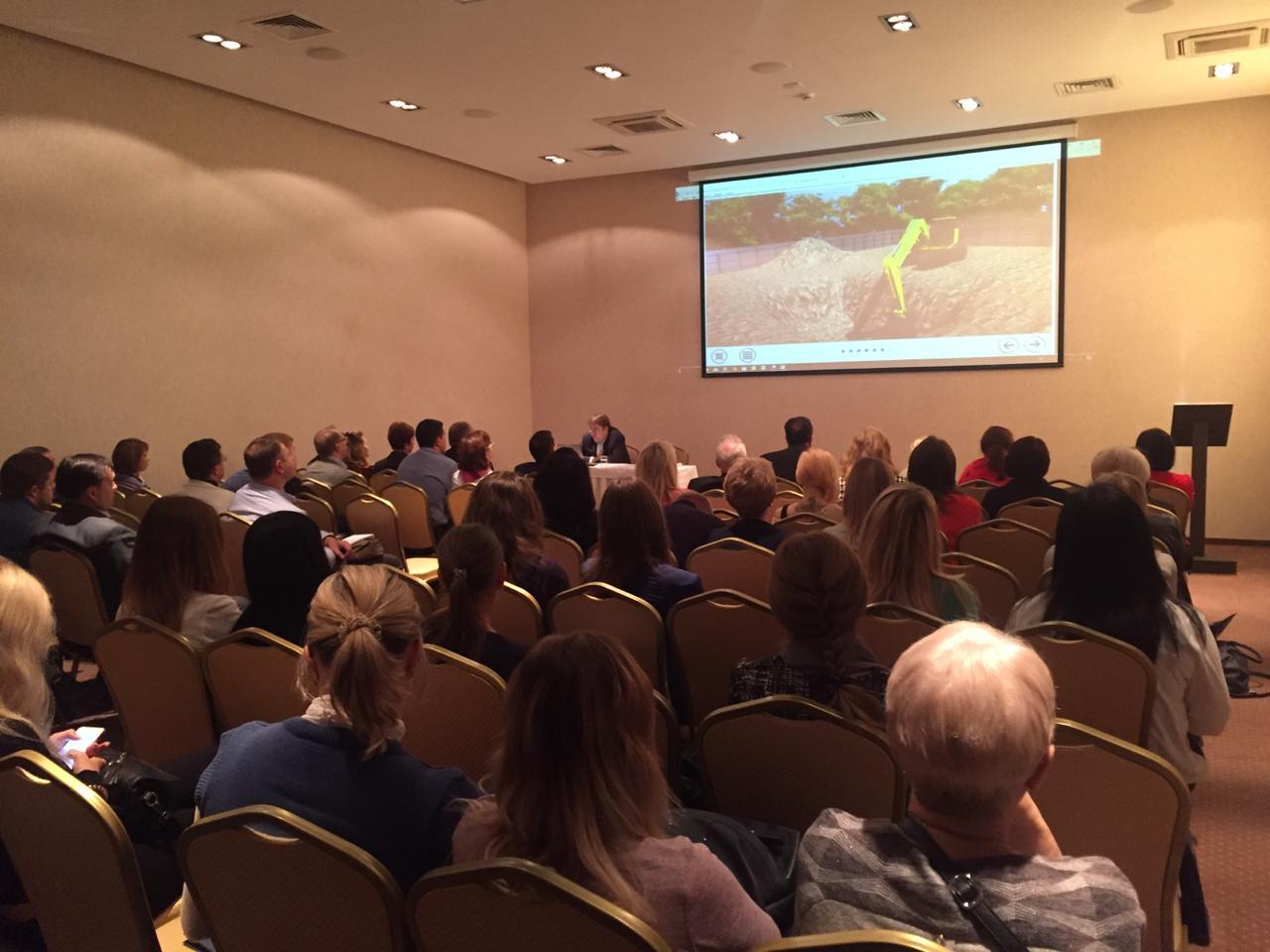 участники семинара ОЛИМПОКС:Предприятие в Туле